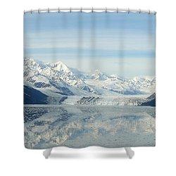 Glacier Bay Reflections Shower Curtain by Susan Lafleur