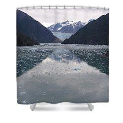 Glacier Blues Shower Curtain