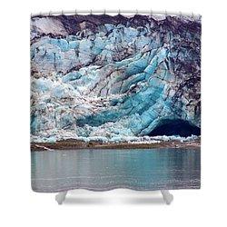 Glacier Cave Shower Curtain