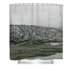 Glacier In Iceland Shower Curtain