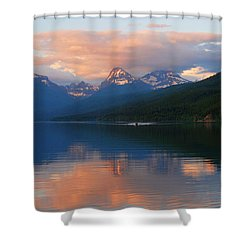 Glacier Lake Shower Curtain