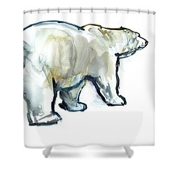 Glacier Mint Shower Curtain