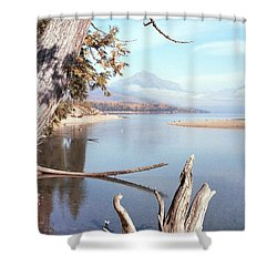 Glacier National Park 3 Shower Curtain