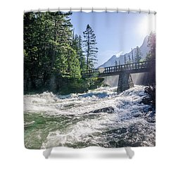 Glacier National Park Beauty Shower Curtain
