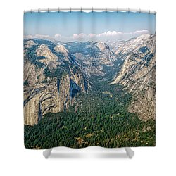 Glacier Point Yosemite Np Shower Curtain
