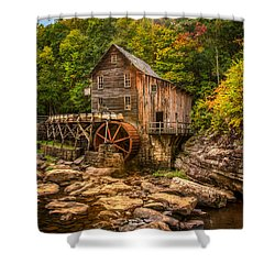 Glade Creek Mill Fall Shower Curtain