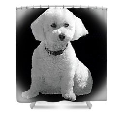 Glamorous Coco Shower Curtain by Emmy Marie Vickers
