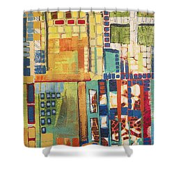Shower Curtain featuring the painting Glass Bottom Boeing by Donna Howard
