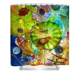 Glass Ceiling 2 Shower Curtain