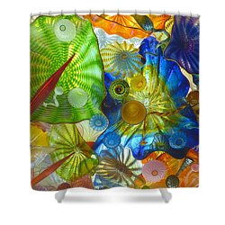 Glass Ceiling 5 Shower Curtain