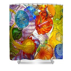 Glass Ceiling 6 Shower Curtain