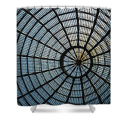 Glass Dome Roof Shower Curtain