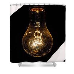 Glass Light Art Shower Curtain