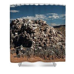 Glass Mountain Capital Reef National Park Shower Curtain