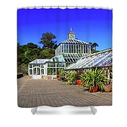 Glasshouse Entrance Shower Curtain