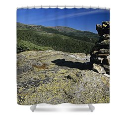 Glen Boulder Trail - White Mountains New Hampshire Usa Shower Curtain by Erin Paul Donovan