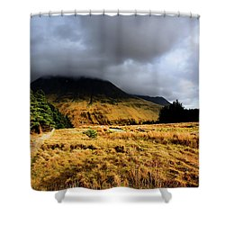 Glen Brittle Shower Curtain