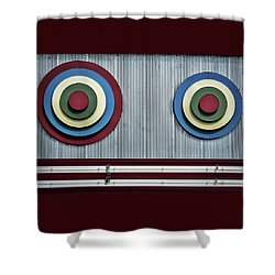 Shower Curtain featuring the photograph Glen Echo Abstract by Stuart Litoff