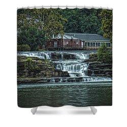 Glen Farris On The Falls Shower Curtain