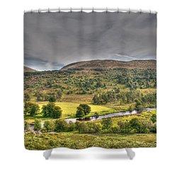 Glen Lyon Scotland Shower Curtain