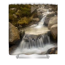 Glen River Nearer To The Source Shower Curtain