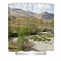 Glen Shiel - Scotland Shower Curtain