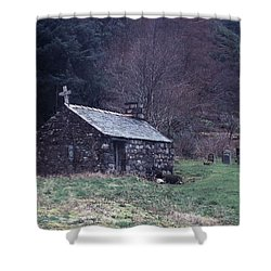 Glencoe Chapel Shower Curtain