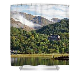 Glencoe House Landscape Shower Curtain