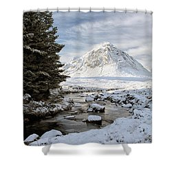 Glencoe Winter View Shower Curtain