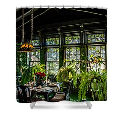 Glensheen Mansion Breakfast Room Shower Curtain by Paul Freidlund