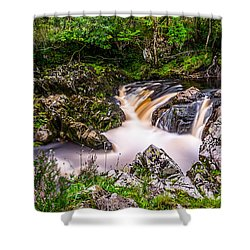 Glentrool Rivers And Falls Shower Curtain