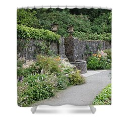 Glenveagh Castle Gardens 4288 Shower Curtain