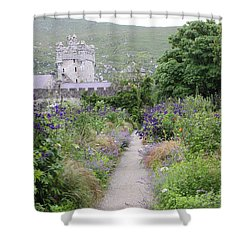 Glenveagh Castle Gardens 4292 Shower Curtain