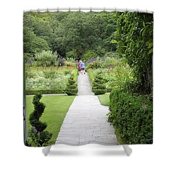 Glenveagh Castle Gardens 4272 Shower Curtain