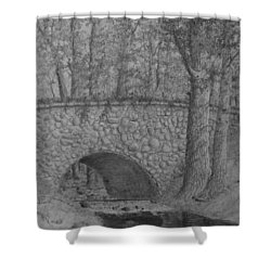 Glenview Bridge Shower Curtain