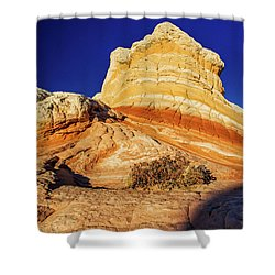 Shower Curtain featuring the photograph Glimpse by Chad Dutson