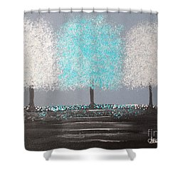 Glistening Morning Shower Curtain