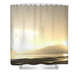 Glittering Shower Shower Curtain