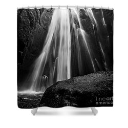 Gljufrabui Iceland Shower Curtain