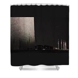 Glmpse Of The Washington Monument Shower Curtain