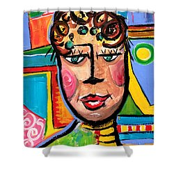 Gloria - Vivid Vixen 7 Shower Curtain
