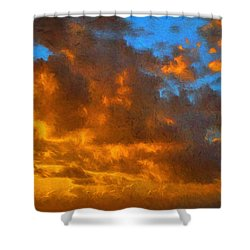 Glorious Clouds Shower Curtain
