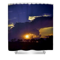 Shower Curtain featuring the photograph Glorious Days End by Jan Amiss Photography
