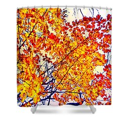 Glorious Foliage Shower Curtain