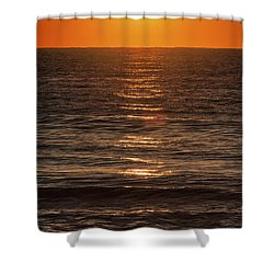 Glorious Ocean Sunrise Shower Curtain