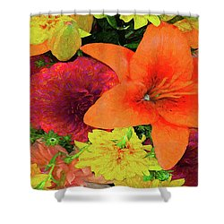 Glorious Summer Colors Shower Curtain