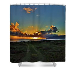 Glorious Sunrise Shower Curtain by Craig Wood