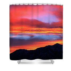 Glorious Sunrise Shower Curtain