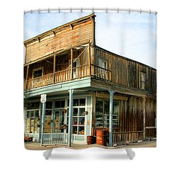 Glory Hole Route 66 Shower Curtain by Kristin Elmquist