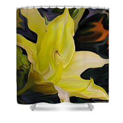 Shower Curtain featuring the painting Glory II by Patricia Griffin Brett